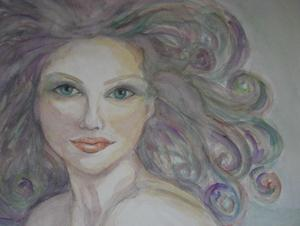 20120508123750-the_look-_watercolor_on_paper