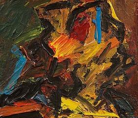 Julia, Frank Auerbach