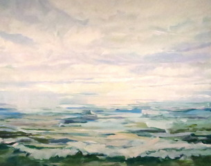 Atlantic Ocean - Winter Morning, Richard Orient