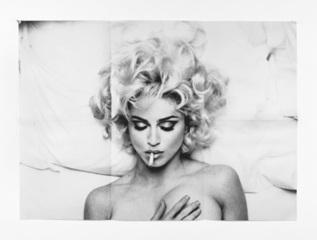 Folded Madonna Poster (Steven Meisel), Anne Collier