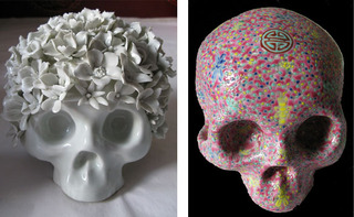 Skull 1 and Skull 2,Huang Yan