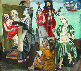 The Balzac Story,Paula Rego