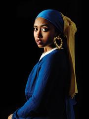 Girl With a Bamboo Earring, Awol Erizku