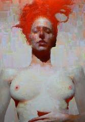 The Untitled Painting of Vikki Sleeping , Eric Pedersen