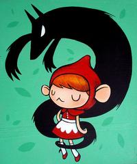 little red riding hood, Lauren Gregg