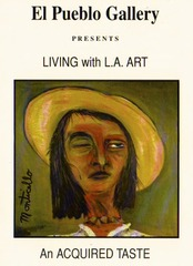Living with LA Art, Sandrinha Cruz, Monticello Miller