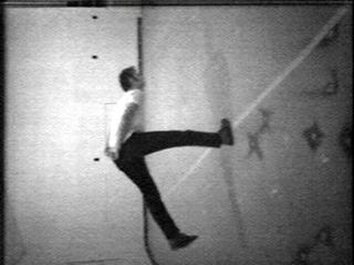 """ Slow Angle Walk (Beckett Walk),"" 1968. Nauman Bruce Slow Angle Walk, , Bruce Nauman"