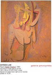 Figure Assise (Anamu) , Wifredo Lam