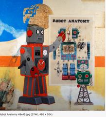 Robot Anatomy, Michael Mews