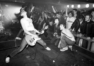 The Ramones at Eric's Club, Liverpool, England,
