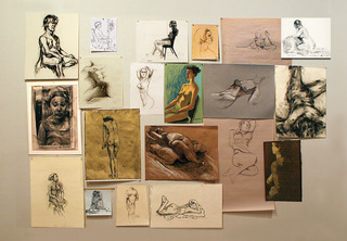 drawing wall, Exhibiting artists