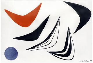 Boomerang Night, Alexander Calder
