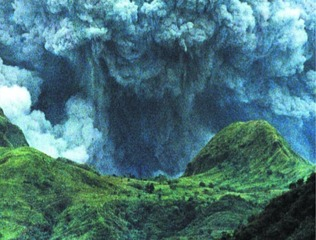 Pinatubo, an image from film \'Perpetual Piece\' , Michelle Dizon