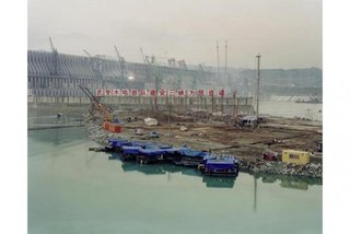 Proyecto Presa de las Tres Gargantas?, Presa #1, rio Yangtzé, China / Three Gorges Dam Project, Dam #1, Yangtze River, China , Edward Burtynsky