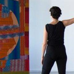 film Still from Five Dances and Nine Wall Carpets by Noa Eshkol, 2011 , Sharon Lockhart