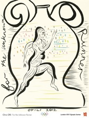 For the Unkown Runner,Chris Ofili