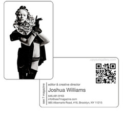Business Art·Card Example,Joshua Williams