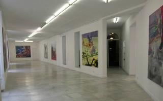 Installation View, Markus Oehlen