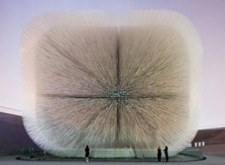 UK Pavilion, Seed Cathedral. Shanghai Expo, China,