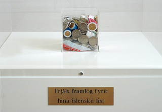 Kleine Spende für die isländische Kunst, Wolfgang Müller