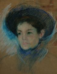 Portrait of Mathilde Valet, Mary Cassatt