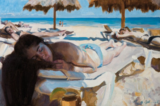 Under the Palapa, Paul Oxborough
