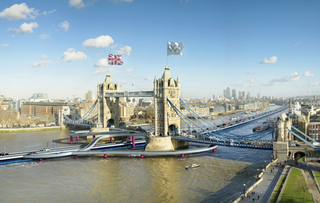 Floating Olympic Lanes by Dowling Jones and Stone, seen on dezeen.com 	,