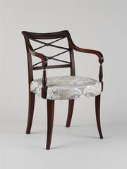 Scroll-Back Armchair,Duncan Phyfe
