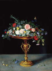 An Arrangement of Flowers ,Jan Brueghel the Younger