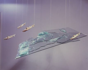 Large Glass Ship,Chris Burden