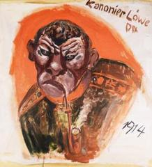 Lion Cannoneer, Otto Dix