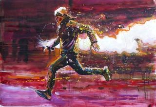 Run, Protester Run! , Armando Mariño