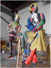 The Immortals (Mr and Mrs), 2012 , Folkert de Jong