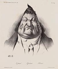 The past, the present, the future. (Le passé. Le présent. L\'Avenir.). La Caricature, Plate 349 (Volume 7, Issue 166, January 9, 1834), Honoré Daumier
