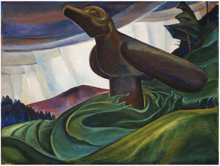 Big Raven,Emily Carr