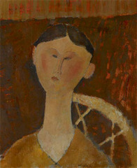 Portrait of Mrs Harding,Amadeo Modigliani