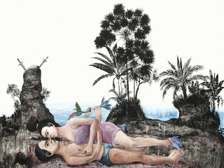 Interfere: Reclaim Landscape, Entang Wiharso