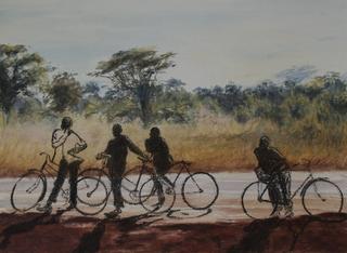 African Bicycles, Harriet Ruck Keene