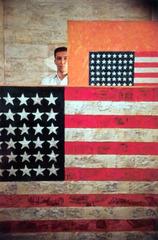 Portrait of Jasper Johns at Leo Castelli\'s Gallery, Dan Budnick