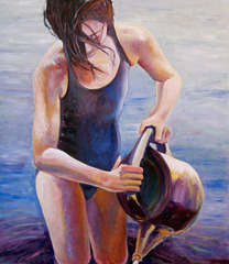 Watering, Elizabeth Gorek