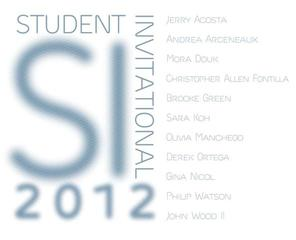 Student Invitational 2012 Announcement,