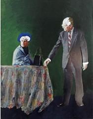 Portret van echtpaar Sanders, Ger Van Elk