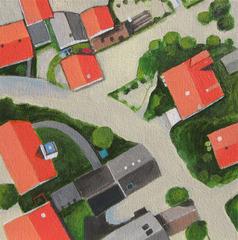 Flooded Village , Toni Silber-Delerive
