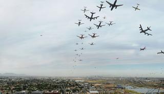 Seventy Flights in Ninety Minutes, Phoenix Arizona, D. Bryon Darby