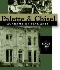 Palette & Chisel,Sketch Class in early 20th Century