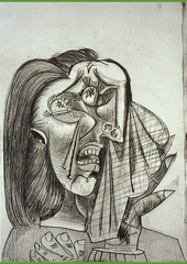 La Femme qui pleure [Weeping Woman] , Pablo Picasso