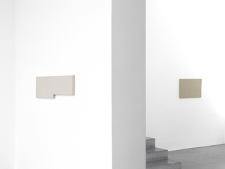 exhibition view, Jacob Kassay