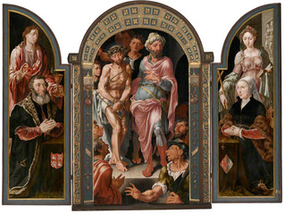 The \'Ecce Homo\' Altarpiece, Maerten van Heemskerck