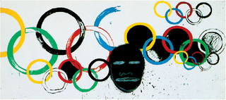 Olympic Rings, Andy Warhol, Jean-Michel Basquiat