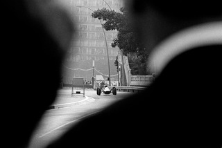 Race View Over Spectator\'s Shoulder, Monaco  ,Jesse Alexander